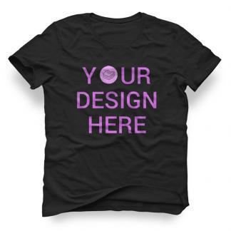 Custom T-shirt Black