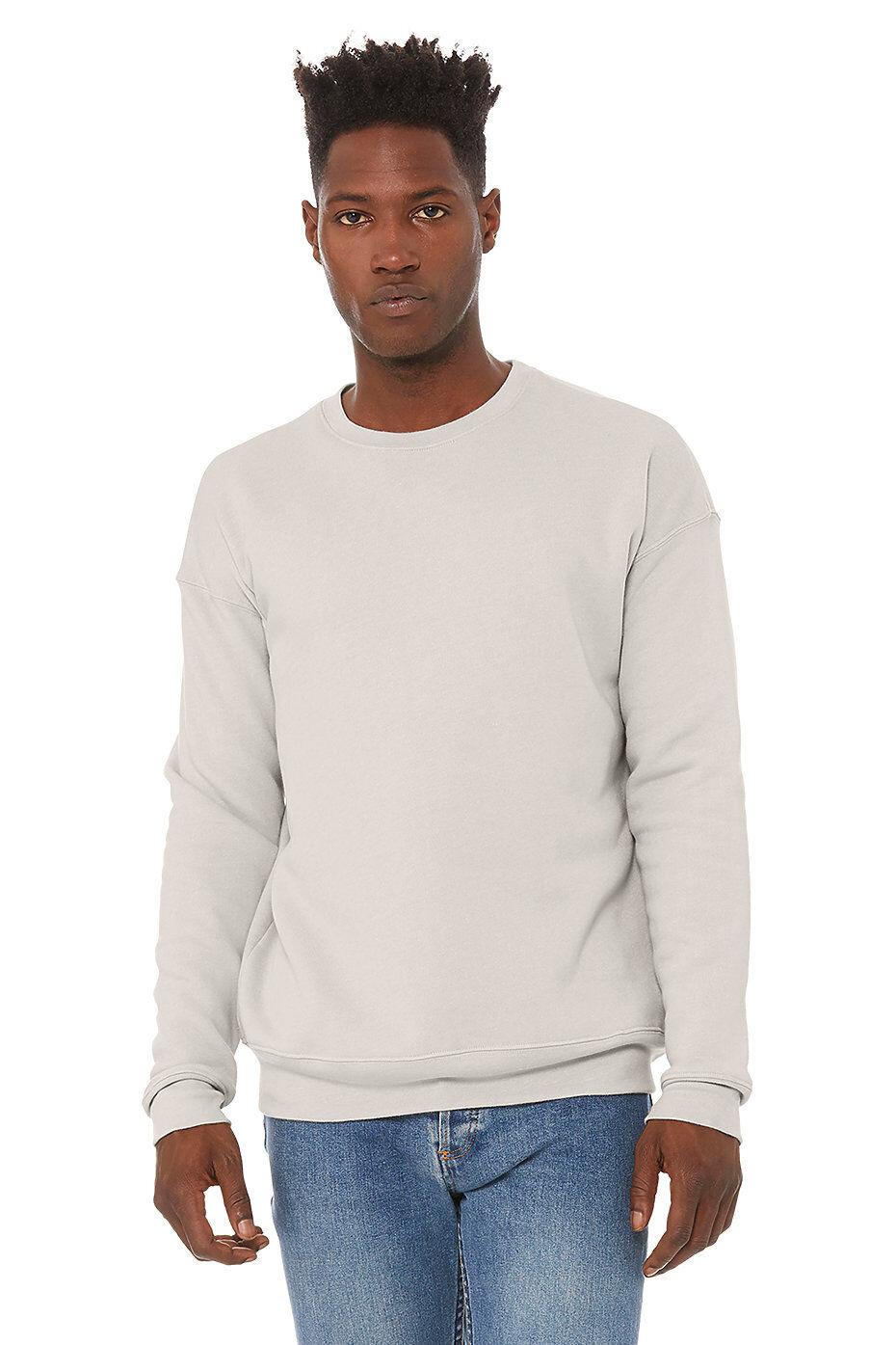 BELLA + CANVAS - Unisex Sponge Fleece Drop Shoulder Crewneck Sweatshirt - 3945