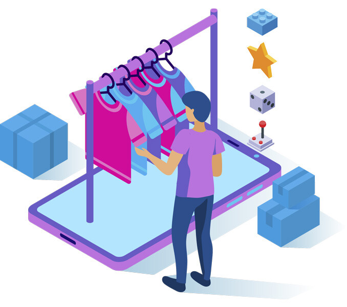 Merchandise helps businesses and brands profit more by selling personalized merchandise to their end customers