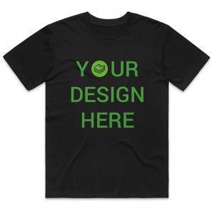 Merch38 Black Custom T-shirt