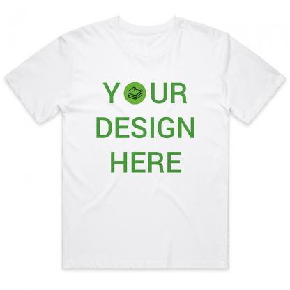 Merch38 White Custom T-shirt