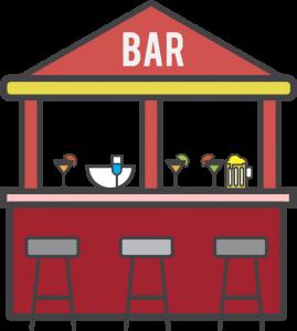 Merchandise for bars